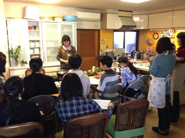 食養料理教室@助産院バースハーモニー